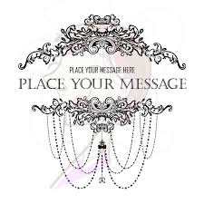 Black Chandelier Clip Art Vintage French Clip Art 75