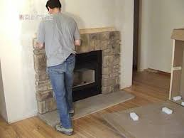 How To Build Fireplace Surround by Less Than 30 Min Elk Ridge Field Stone Fireplace Mantel