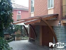 tettoie in legno e vetro pensiline in alluminio ferro acciaio inox legno policarbonato