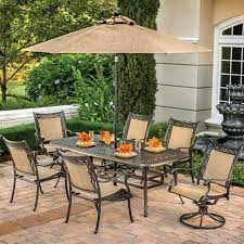 Outdoor Patio Table And Chairs Patio Furniture Table And Chairs Cushioned Collection Patio