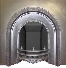 Cast Iron Fireplace Insert by Antique Victorian Cast Iron Arched Fireplace Insert