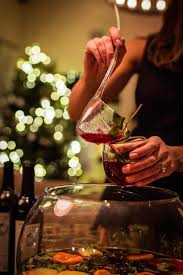 2 great holiday punch recipes camille styles