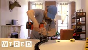 How To Build A Dividing Wall In A Room - how to build a fake wall for mounting a flat screen d i y wired