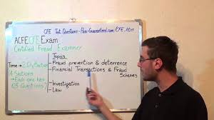 cfe u2013 certified exam fraud test examiners questions youtube