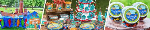 gone fishing birthday party supplies ideas shindigz