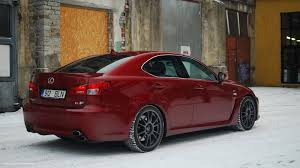 isf lexus red best lexus is f revving exhaust sound in the world youtube