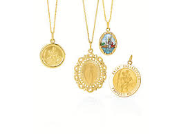 religious necklace religious medals religious jewelry stuller