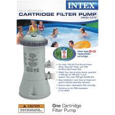 Intex Pool Frame Parts Amazon Com Intex Krystal Clear Cartridge Filter Pump For Above