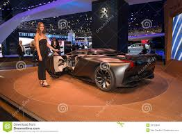 peugeot onyx peugeot onyx concept car editorial photo image 34753846