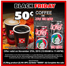 black friday k cup deals circle k black friday coffee or joker mad energy 50
