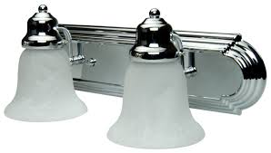 craftmade 11718 kit ch2 chrome racetrack 2 light bathroom vanity
