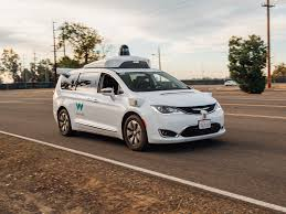 self driving car waymo demos autonomous vehicles at california testing site