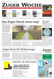 G Stige K Hen Zuger Woche Kw 13 2013 By Zehnder Verlagshaus Issuu