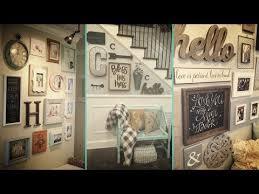❤ DIY Shabby chic style Gallery Wall decor Ideas ❤ Home decor