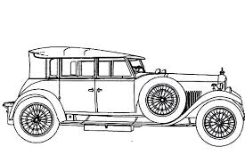 coloring pages of lowrider cars classic car netart