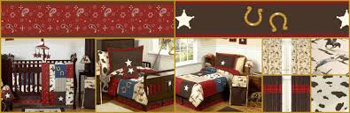 wild west western horse cowboy baby and teen bedding
