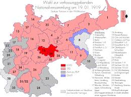 Germany Map Outline by German Federal Election 1919 Wikipedia