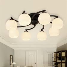 aliexpress com buy modern wrought iron ceiling chandelier