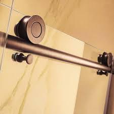 frameless glass tub doors paragon bath crsbs0362 orb tub frameless shower door oil rubbed