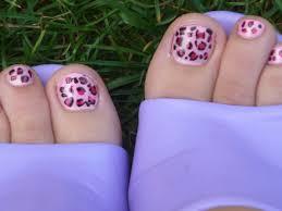 leopard toenail design педикюр youtube