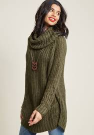 sweater in homecoming the mountain sweater in moss modcloth