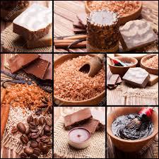chocolate and coffee spa sea salt handmade soap and bath pearls