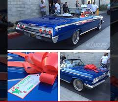 new car gift bow iggy azelea nick s gift a brand new car tmz