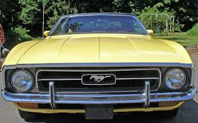 72 mustang convertible medium bright yellow 1972 ford mustang convertible