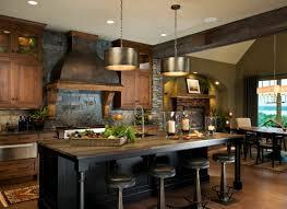 cuisine chaleureuse décoration cuisine cagne accueillante et chaleureuse