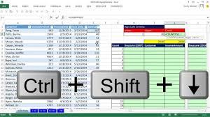 excel magic trick 1128 aging accounts receivable reports on