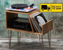 Lp Record Cabinet Furniture Record Player Stand Etsy
