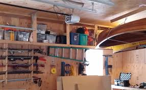 how to build overhead garage shelves for overhead garage storage