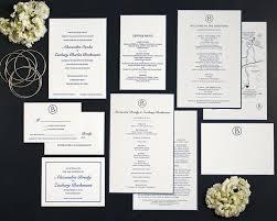 wedding invitation suite classic wedding invitation tiny dog press