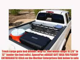 Tacoma Bed Width Truck Cargo Gate Bed Divider Msp 07 Bed Width Range 67 25 To 72