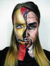 iron man makeup