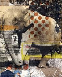 Caplan Art Designs Elephant4 By Michelle Caplan Collage Artist Www Michellecaplan