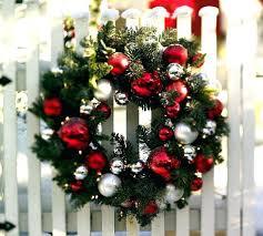 Large Christmas Ornaments Wholesale by Decor Christmas Wreath U2013 Dailymovies Co