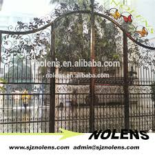 wrought iron main gate with arch design wrought iron main gate