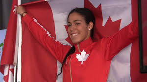 Canada Flag Bearer Kia Nurse U0027in Shock U0027 When Asked To Be Pan Am Closing Flag Bearer