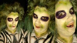 Easy Halloween Makeup Tutorials by Beetlejuice Halloween Makeup Tutorial Beetle Juice Easy
