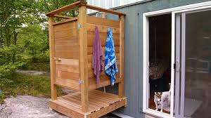 Outdoor Shower And Toilet How To Build An Outdoor Shower