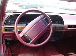 Ford Taurus Interior 1991 Ford Taurus Information And Photos Zombiedrive