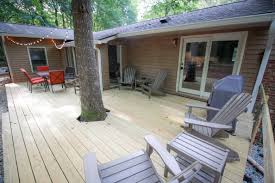 backyard deck renovation field treasure designs
