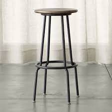 scholar backless bar stool crate and barrel stools bar stool
