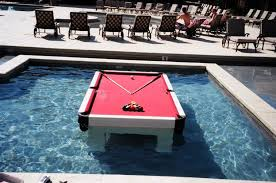 floating table for pool floating pool table foam beer pong tables foam floating tables