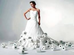 amazing wedding dresses breathtaking toilet paper wedding dresses