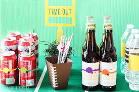 football party ideas football party drink station lydi out loud