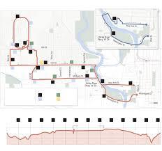 Indianapolis In Map Route Map 2015 Oneamerica 500 Festival Mini Marathon
