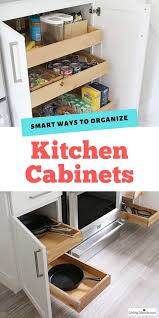 how to organize kitchen cupboards and drawers 10 smart kitchen organization ideas cabinet storage