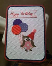 mr owl says happy birthday cards made by me pinterest